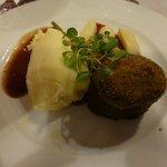 Hereford braised Irish Beef Daube, GUINNESS stew, champ potato and baby turnip