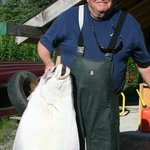 Good eating size Halibut