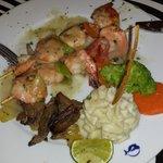 brochettes de crevettes à l'italien