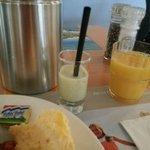 Smoothie at breakfast