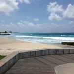 Playa mas cercana frente al hotel