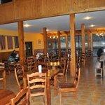 Dining room Refugio Paine Grande