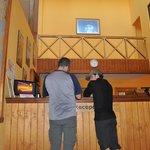 Reception Refugio Paine Grande