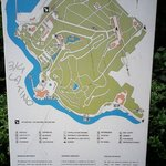 pianta parco e castello
