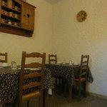 La stanza dove abbiamo fatto colazione