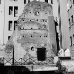Ruin of the Excubitorium behind A Trastevere da M.E.