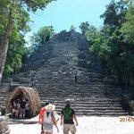 Temple at Coba