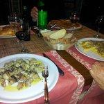 gnocchetti di fave e ravioli