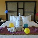 Birthday towels
