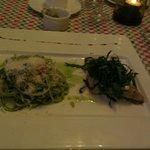Sea bass in the Italian