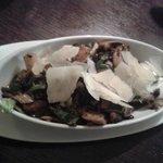 Mashroom salad.