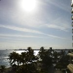 View from balcony at Melia Nassau Beach Resort