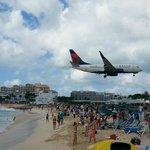 Plane Spotting - Maho Beach