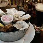 Guinness and oysters