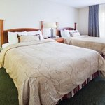 One Bedroom Extended Stay Suite with Two Double Beds