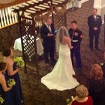 Wedding Ceremony & Reception in the Crystal Ballroom