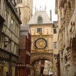 Rue du Gros-Horloge,Rouen ,France