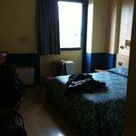 La nostra stanza 301 vista fiume... Grandissima!!!