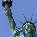 Statua della Liberta - da vicino