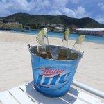 Bucket of Corona's on the beach!