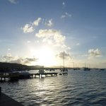 Sunset from the Christiansted Boardwalk