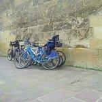 Vigilando las bicicletas en Córdoba