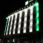 Facciata dell'hotel si sera
