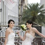 Brides at the Crowne Plaza Hotel