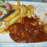 Chicken curry. Absolutely gorgeous