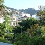View of villas & mountains