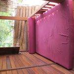 1st row Cabana Balcony Bed :-)