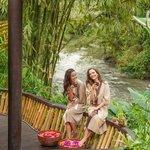 Spa along the Ayung river