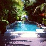 Swimming pool at Pavilion