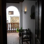 Mezzanine desservant les chambres