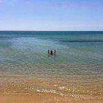 Spiaggia e mare pulito