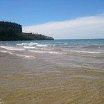 playa de capellans a 5 Minutos andando del hotel