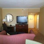 Living room of junior suite