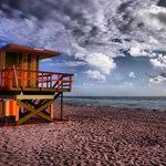 Early morning on Miami Beach