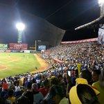 Crowd at Quisqueya Stadium
