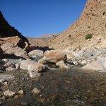 The river flows! The Mgoun Valley, Moroccan Atlas with Sahara Atlas Tours.