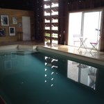 Indoor heated pool open June-Oct