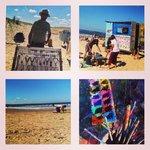 Beach fun/Art on the Beach