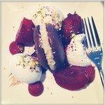 Chocolate/Plums dessert