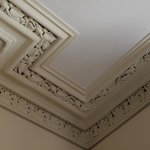 Ariel House Ceiling Molding - example of restoration detail