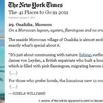 New York Times Oualidia