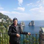 Isla de Capri...desde la parte de arriba...