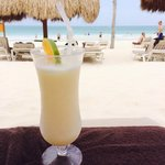 Piña & a great beach!