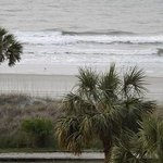 Another picture of the beach from our balcony