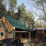View of Margaritaville cabin #17