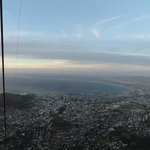 Views of Cape Town from the cable car